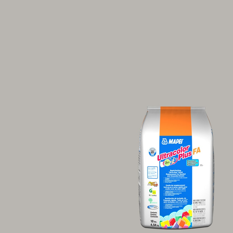 MAPEI Ultracolor Plus FA 10-lb Cobblestone Sanded/Unsanded Powder Grout