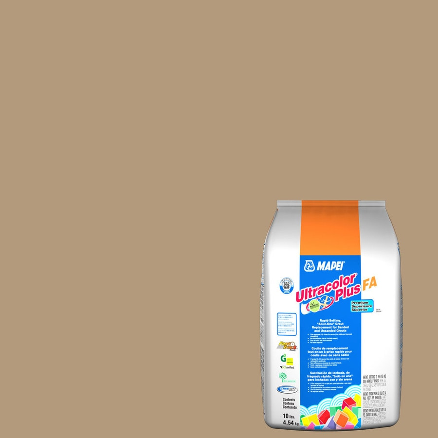 MAPEI Ultracolor Plus FA 10-lb Bamboo Sanded/Unsanded Powder Grout