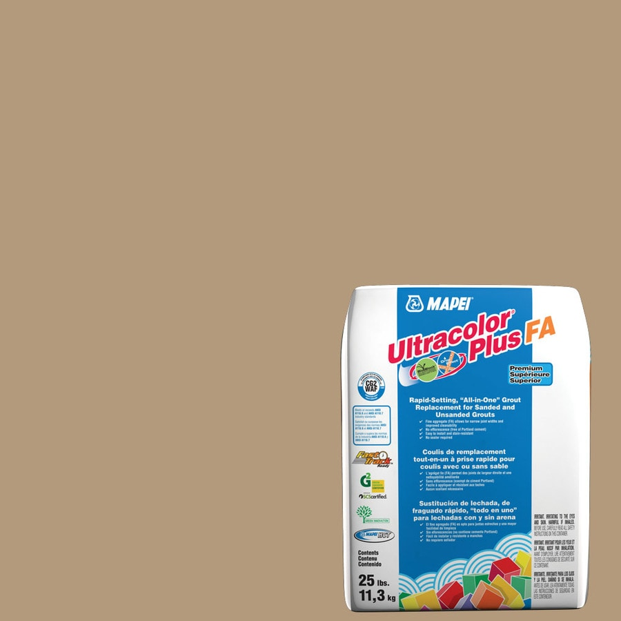 MAPEI Ultracolor Plus FA 25-lb Bamboo Sanded/Unsanded Powder Grout