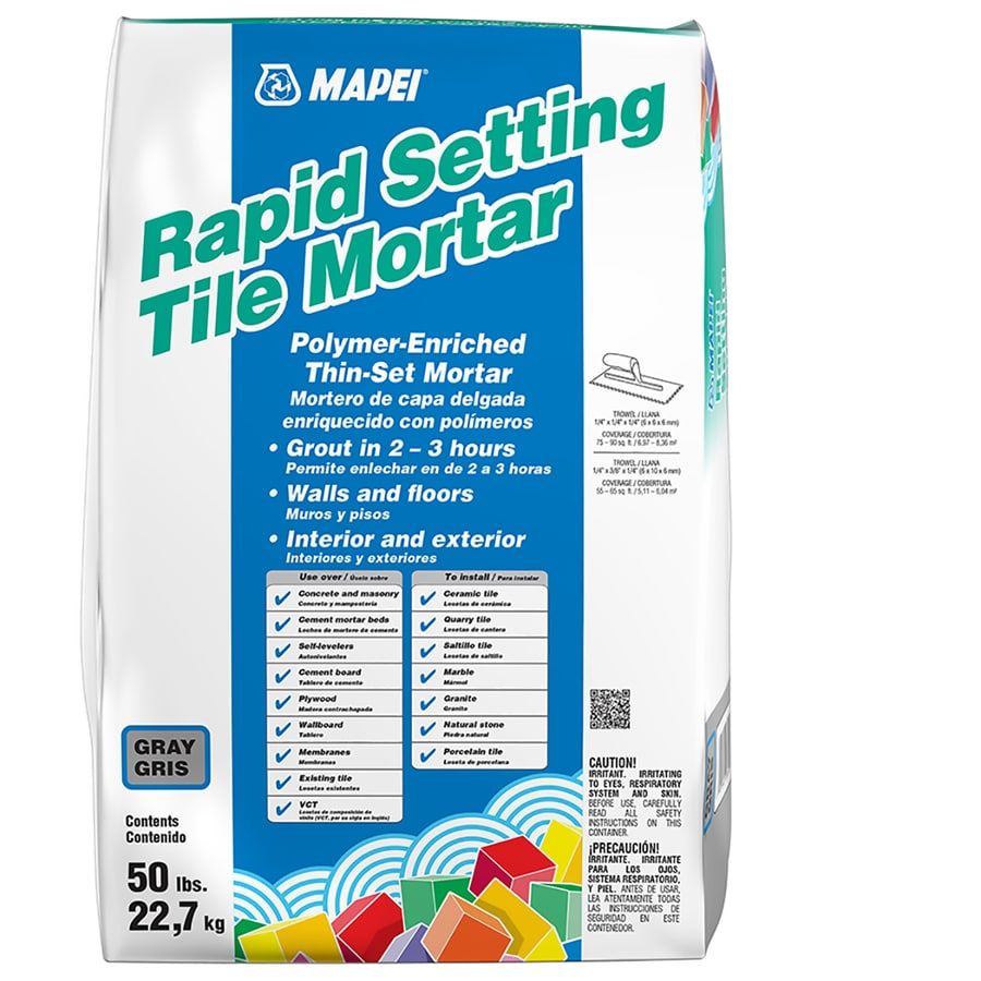 MAPEI Ultraflex Rs 50-lb Gray Powder Polymer-Modified Thinset Mortar