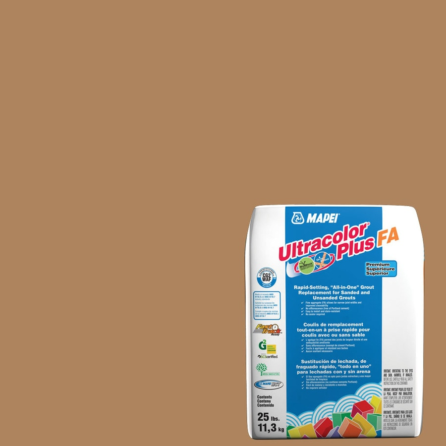 MAPEI Ultracolor Plus FA 25-lb Acorn Sanded/Unsanded Powder Grout