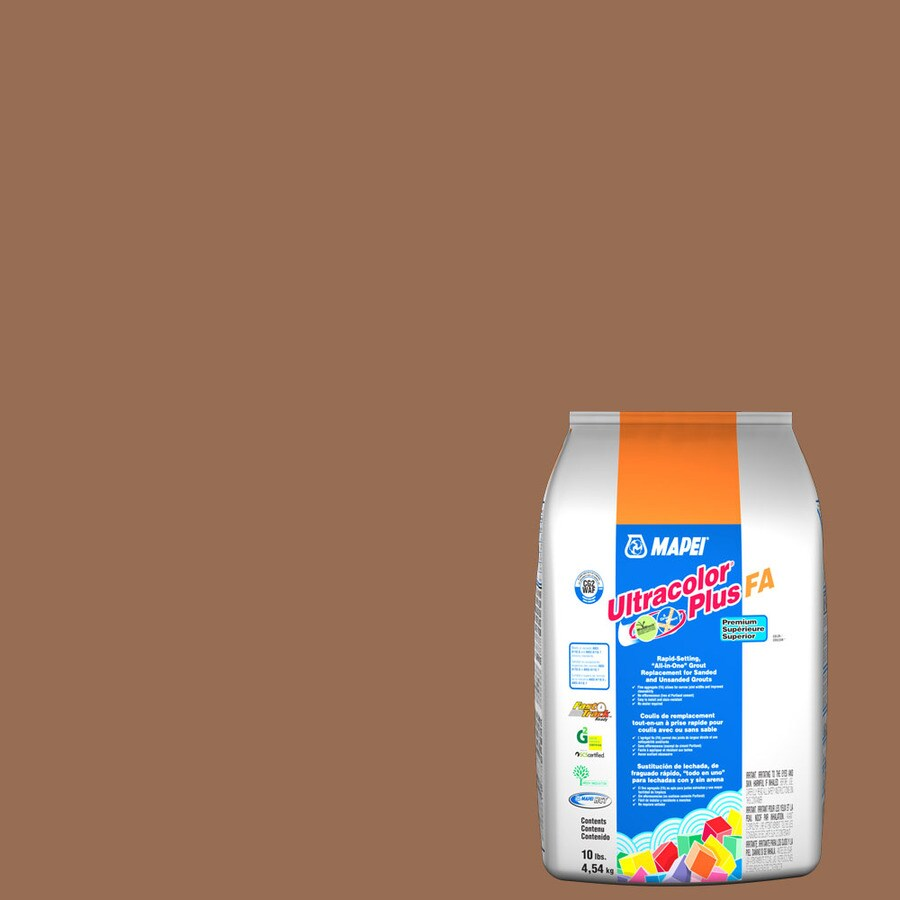 MAPEI Ultracolor Plus FA 10-lb Caramel Sanded/Unsanded Powder Grout