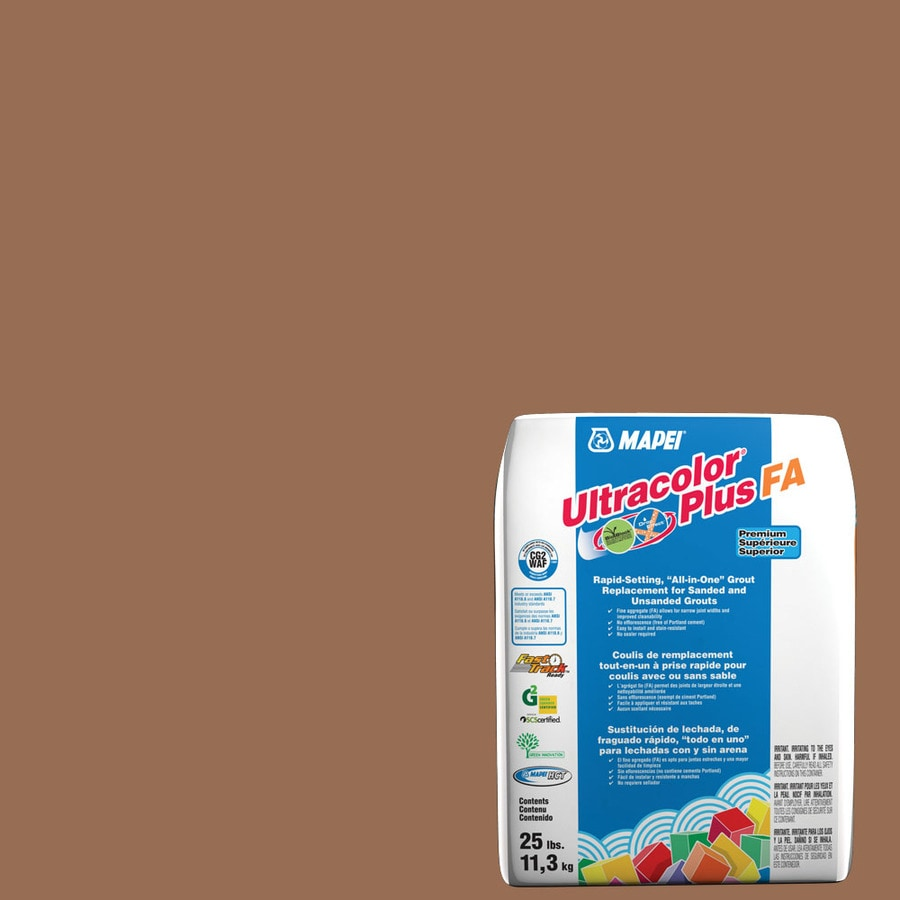 MAPEI Ultracolor Plus FA 25-lb Caramel Sanded/Unsanded Powder Grout