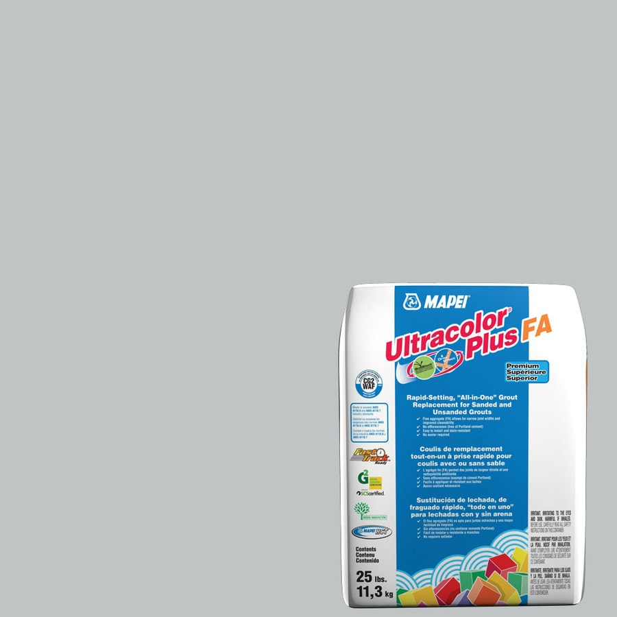 MAPEI Ultracolor Plus FA 25-lb Rain Sanded/Unsanded Powder Grout