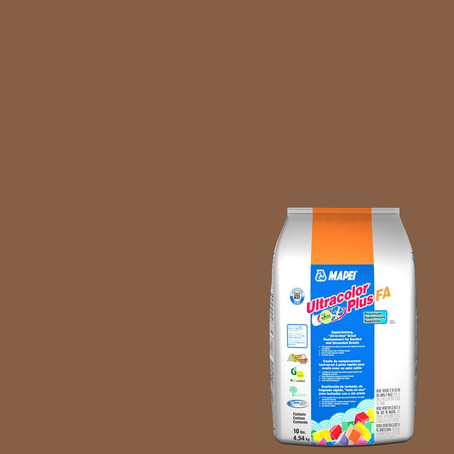 MAPEI Ultracolor Plus FA 10-lb Pecan Sanded/Unsanded Powder Grout