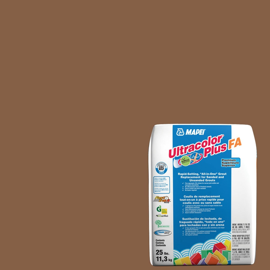 MAPEI Ultracolor Plus FA 25-lb Pecan Sanded/Unsanded Powder Grout