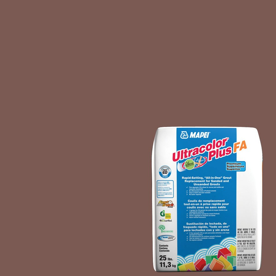 MAPEI Ultracolor Plus FA 25-lb Brick Red Sanded/Unsanded Powder Grout