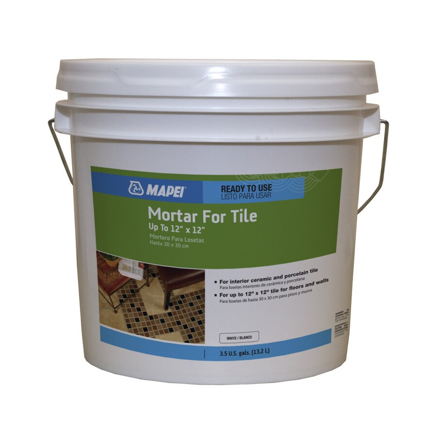 Shop mapei white liquid dry thinset mortar at lowes mapei white liquid dry thinset mortar doublecrazyfo Gallery