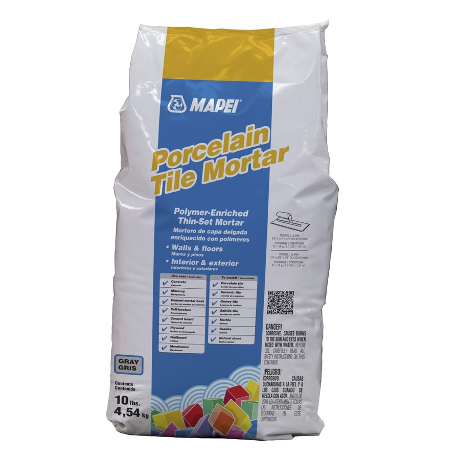 MAPEI Ultraflex Gray Powder Polymer-Modified Thinset Mortar