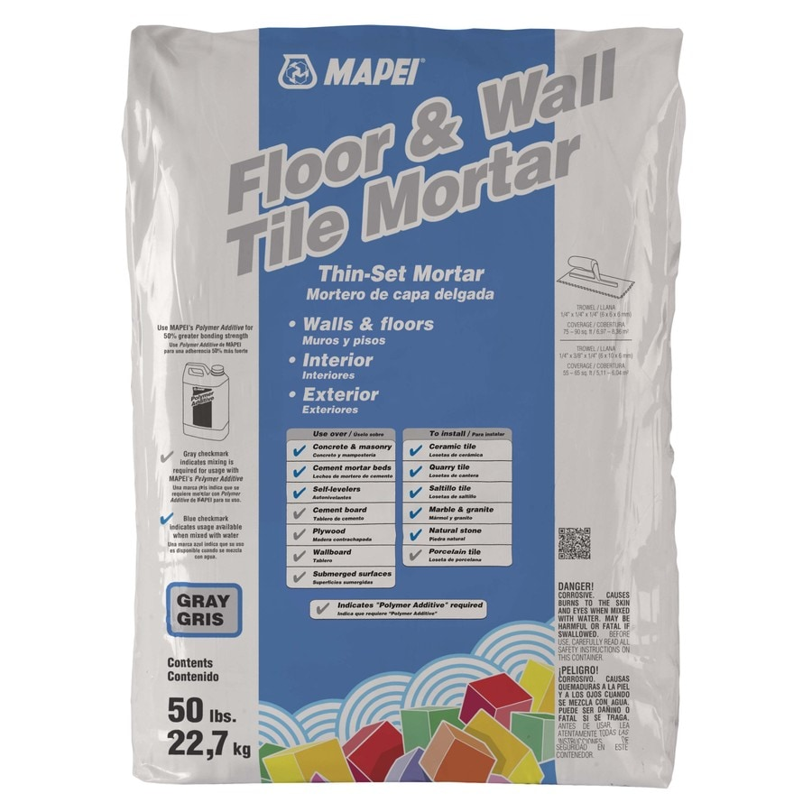 MAPEI Keraset Gray Powder Dry-Thinset Mortar