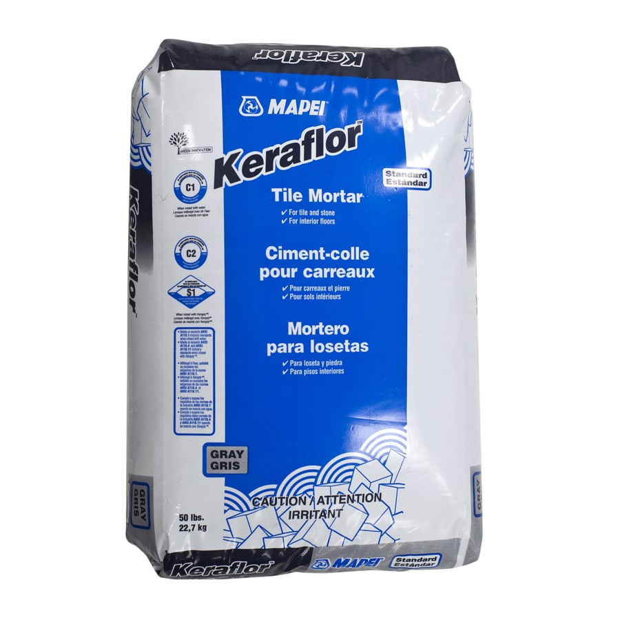 MAPEI Gray Powder Dry-Thinset Mortar