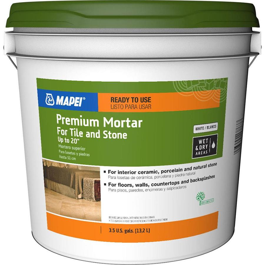 Mapei Premium Mortar Ceramic Tile Mastic 3 5 Gallon
