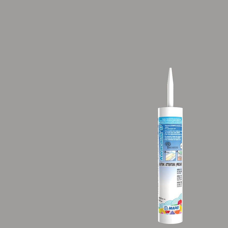 MAPEI Keracaulk U 10.5-oz Timberwolf Paintable Siliconized Acrylic Specialty Caulk