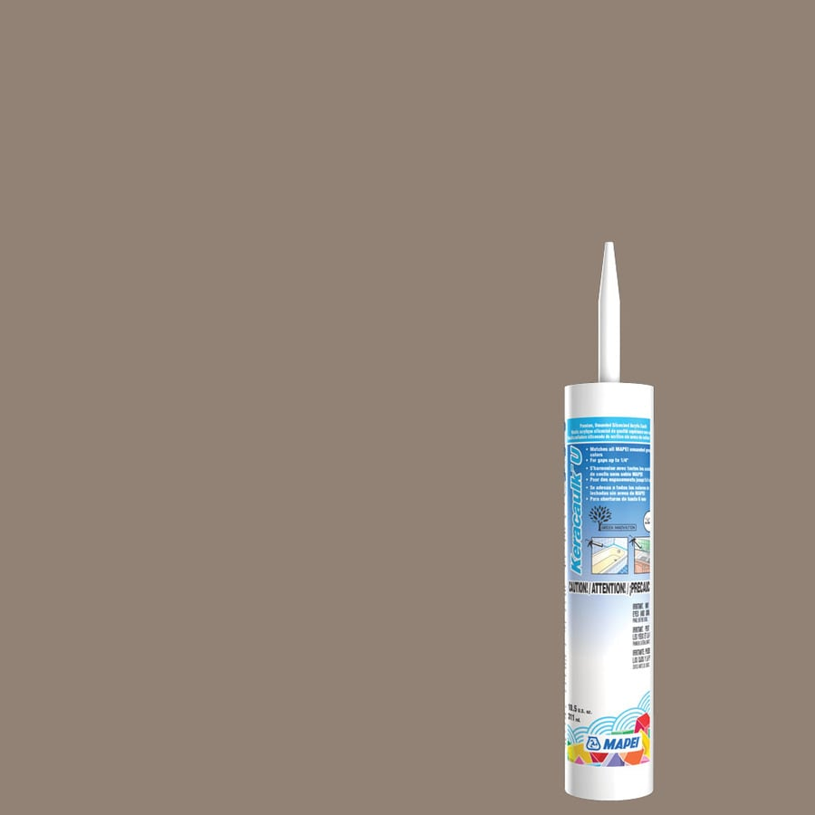 MAPEI Keracaulk U 10.5-oz Walnut Paintable Siliconized Acrylic Specialty Caulk