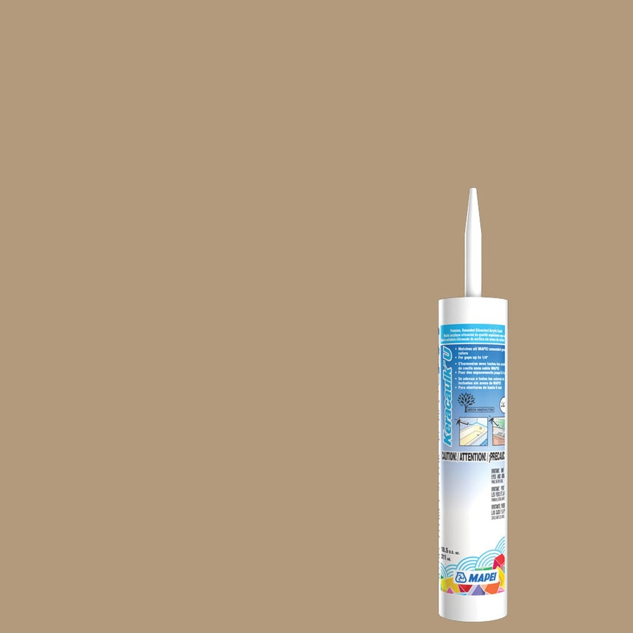 MAPEI Keracaulk U-Pack 10.5-oz Bamboo  Paintable Caulk