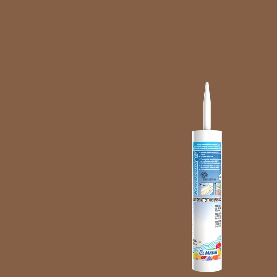MAPEI Keracaulk U 10.5-oz Pecan Paintable Caulk