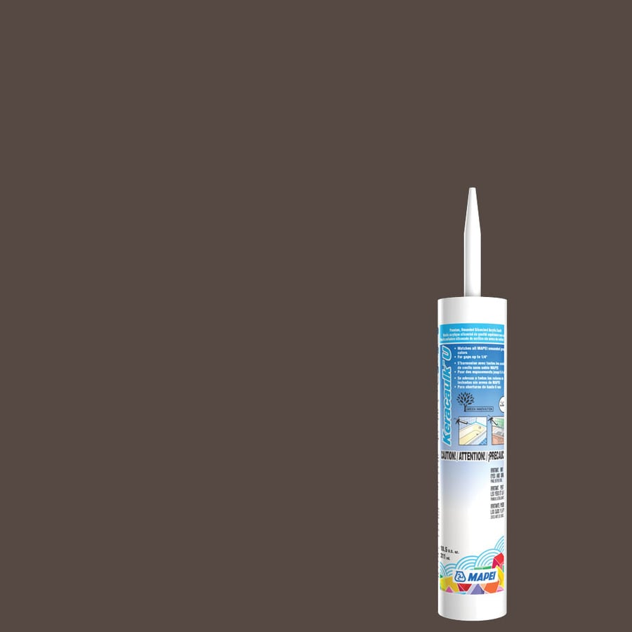 MAPEI Keracaulk U 10.5-oz Truffle Paintable Caulk