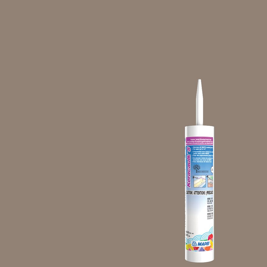 MAPEI Keracaulk S 10.5-oz Walnut Sanded Paintable Siliconized Acrylic Specialty Caulk