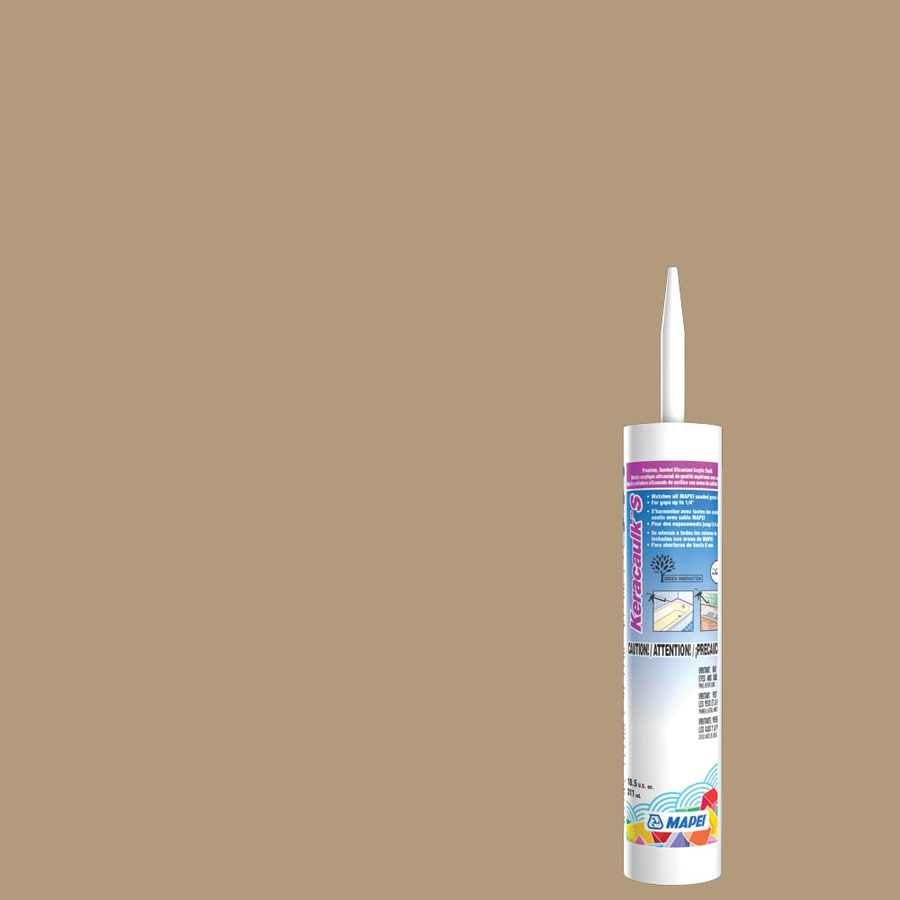 MAPEI Keracaulk S-Pack 10.5-oz Bamboo Sanded Paintable Caulk