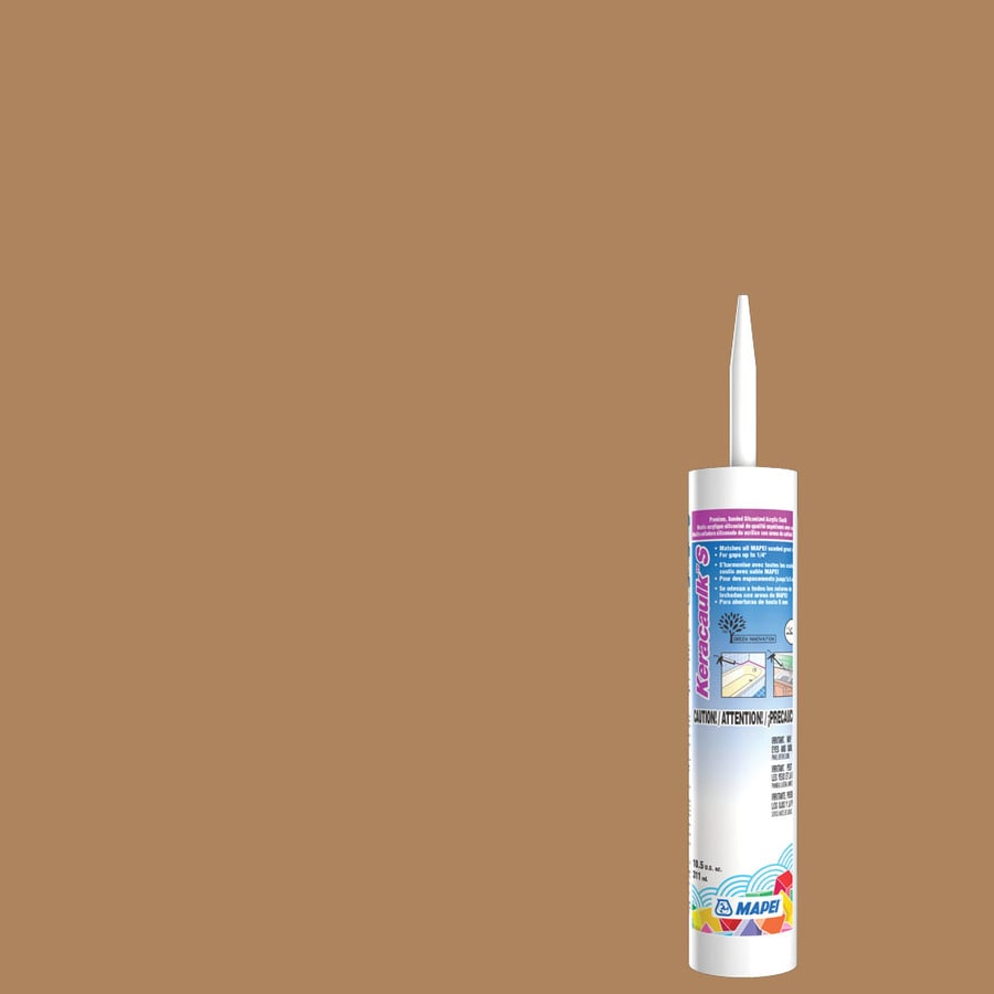 MAPEI Keracaulk S 10.5-oz Acorn Sanded Paintable Caulk