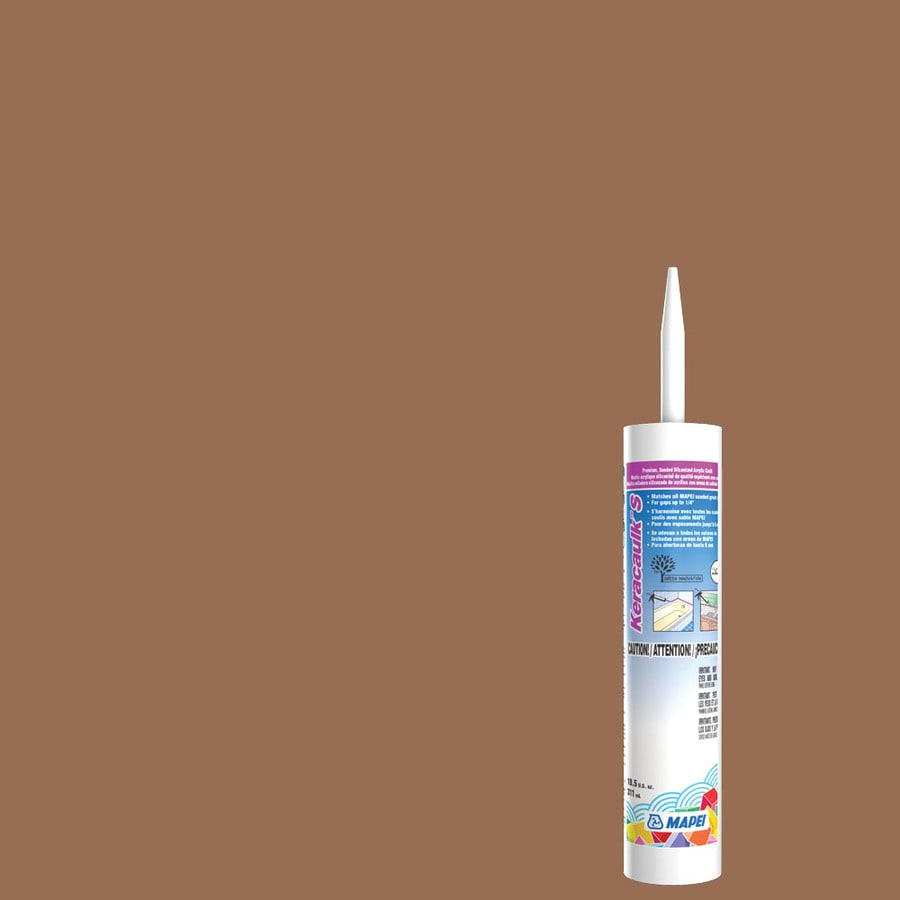 MAPEI Keracaulk S 10.5-oz Caramel Sanded Paintable Caulk