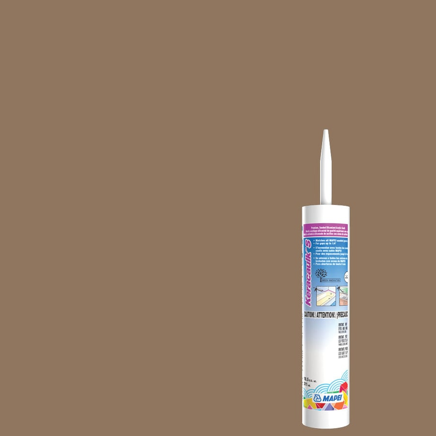 MAPEI Keracaulk S 10.5-oz Hickory Sanded Paintable Siliconized Acrylic Specialty Caulk