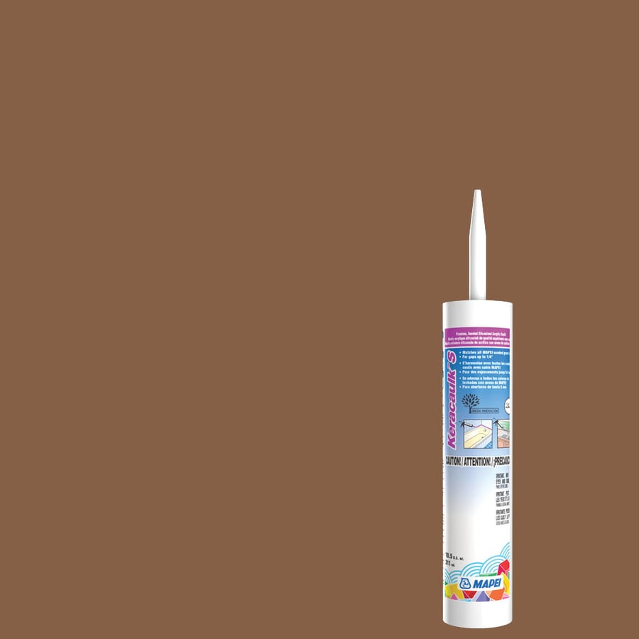 MAPEI Keracaulk S-Pack 10.5-oz Pecan Sanded Paintable Caulk