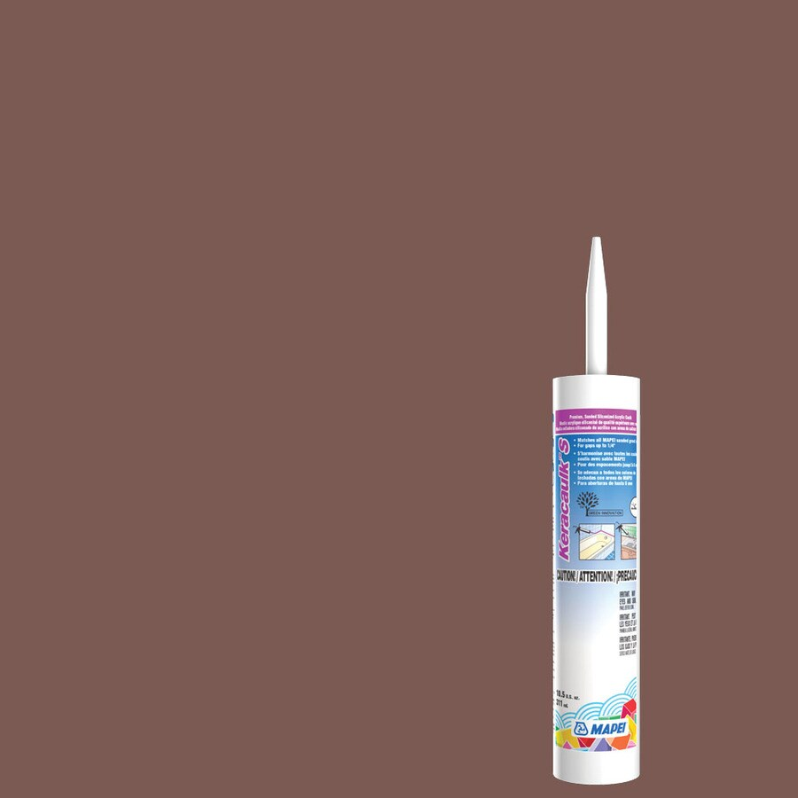 MAPEI Keracaulk S 10.5-oz Brick Red Sanded Paintable Siliconized Acrylic Specialty Caulk