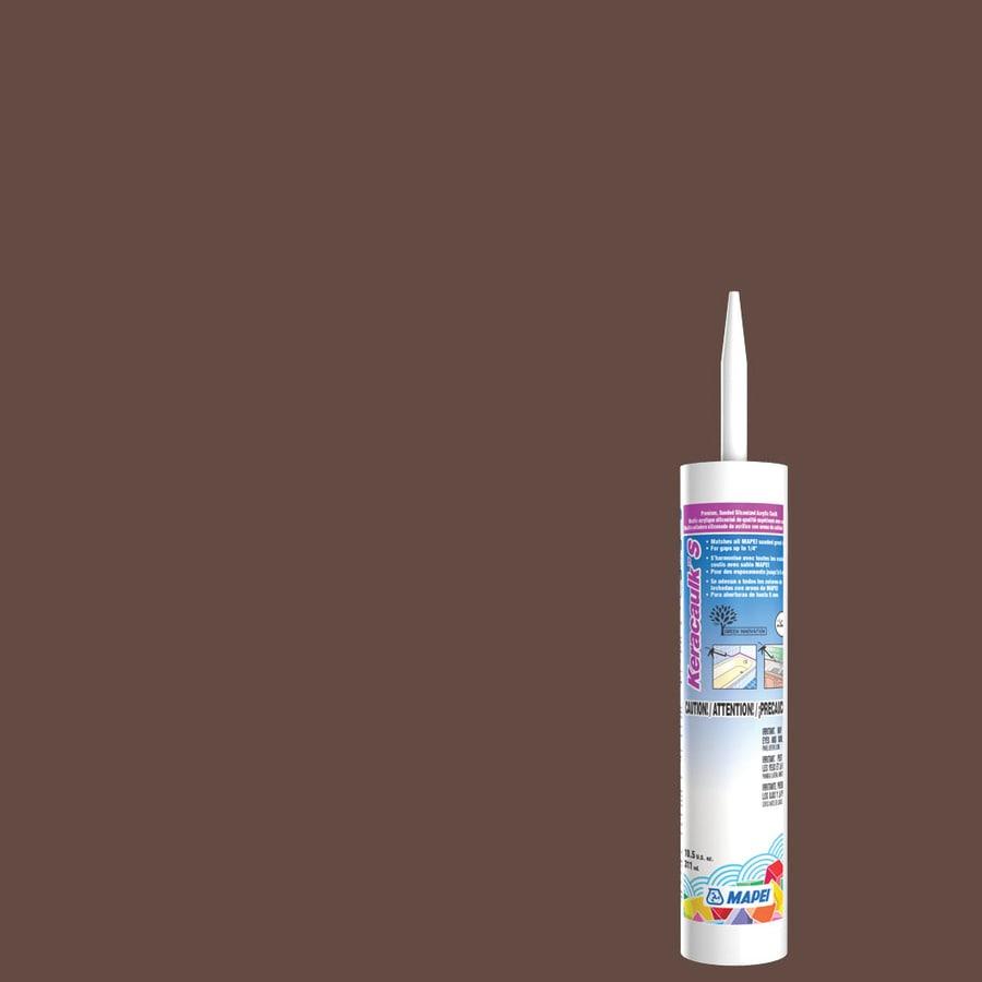 MAPEI Keracaulk S 10.5-oz Mahogany Sanded Paintable Caulk
