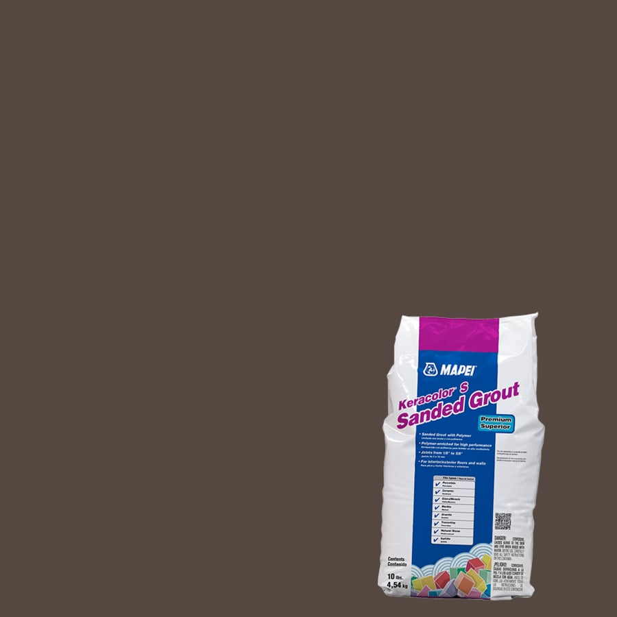 MAPEI Keracolor S 10-lb Chocolate Sanded Powder Grout