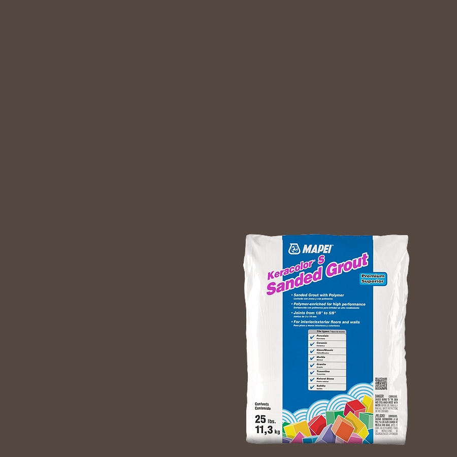 MAPEI Keracolor S 25-lb Chocolate Sanded Powder Grout