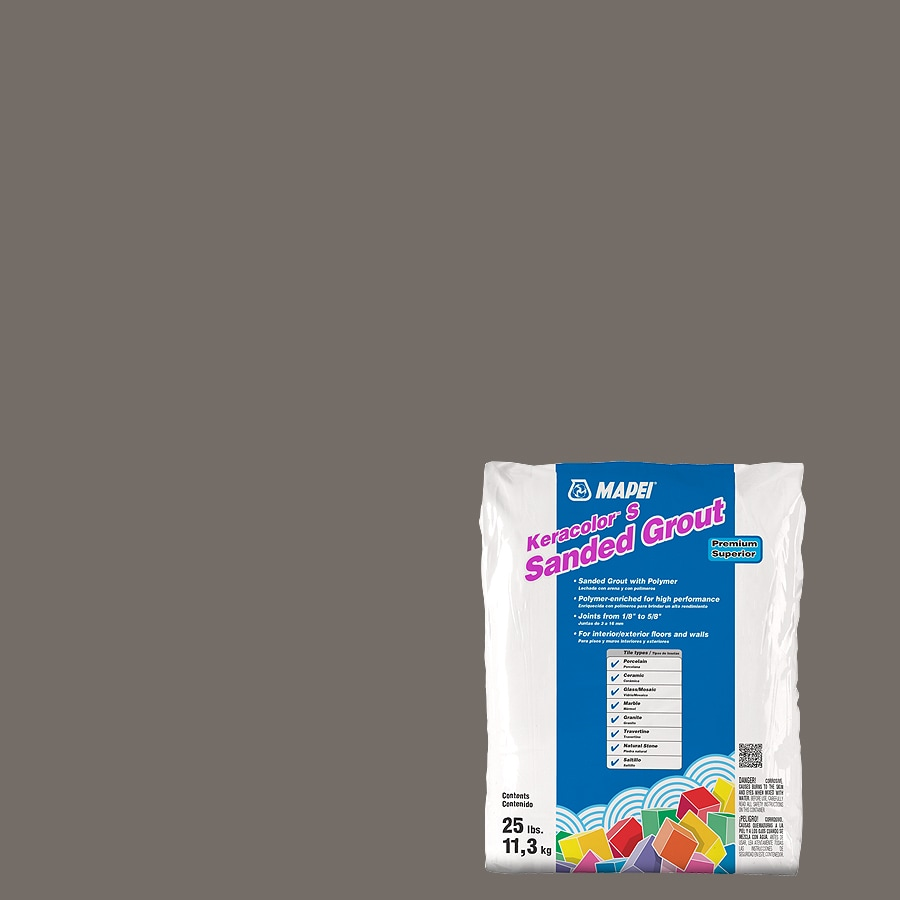 MAPEI Keracolor S 25-lb Gray Sanded Powder Grout