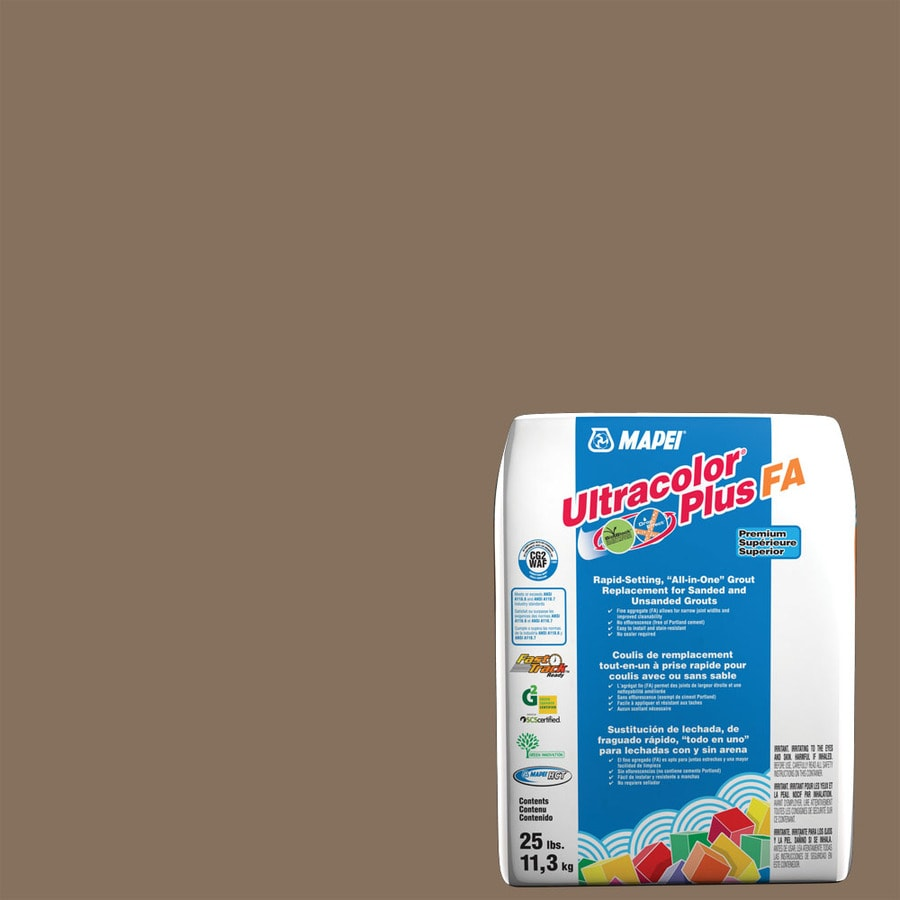 MAPEI Ultracolor Plus FA 25-lb Mocha Sanded/Unsanded Powder Grout