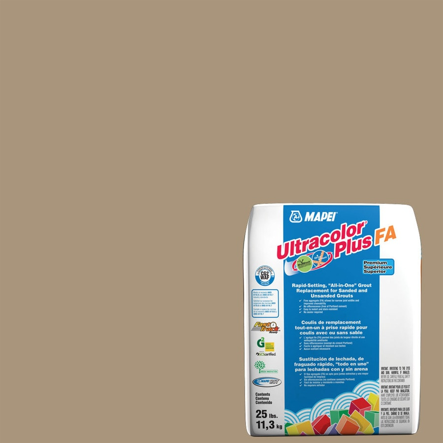MAPEI Ultracolor Plus FA 25-lb Chamois Sanded/Unsanded Powder Grout