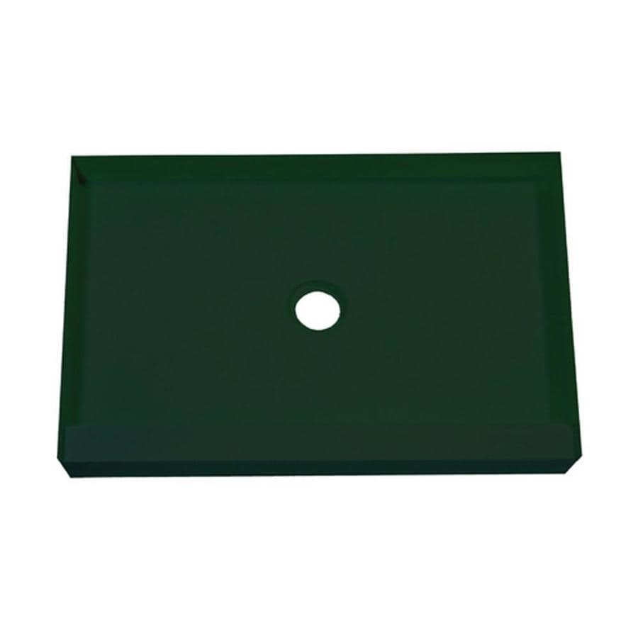 MAPEI Green Polystyrene Shower Base (Common: 54-in W x 30-in L; Actual: 54-in W x 30-in L)