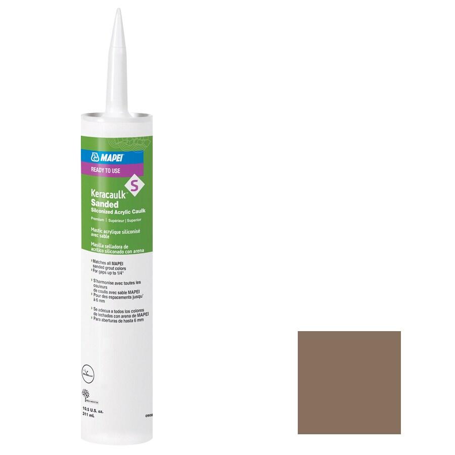 MAPEI Keracaulk S 10.5-oz Mocha Sanded Paintable Caulk
