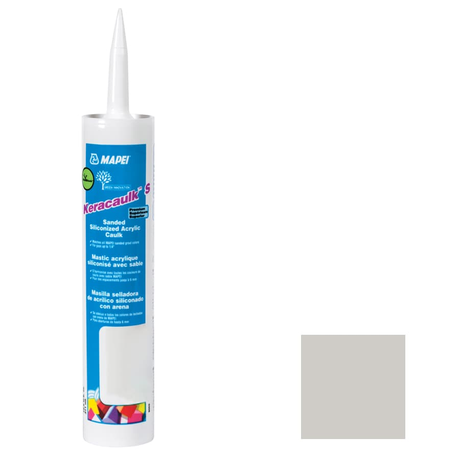 MAPEI Keracaulk S 10.5-oz Frost Sanded Paintable Specialty Caulk