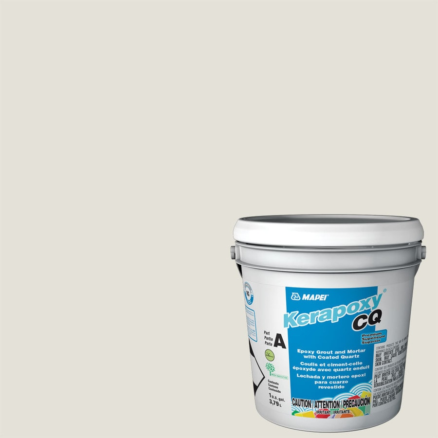 MAPEI Kerapoxy CQ 1-Gallon White Sanded Epoxy Grout