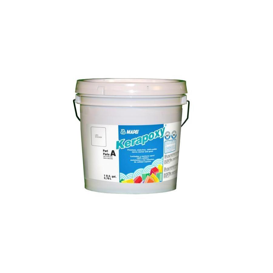 Epoxy Grout For Bathrooms: Shop MAPEI Kerapoxy 1-Gallon White Kerapoxy Sanded Epoxy