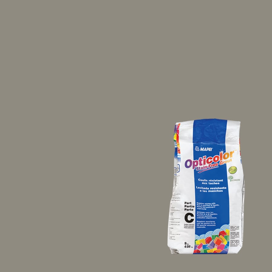 MAPEI 9-lbs Opticolor Pewter Epoxy Powder Grout