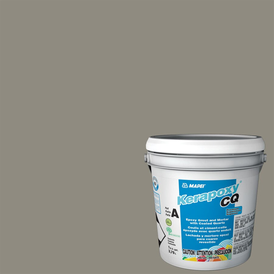 MAPEI Kerapoxy CQ 1-Gallon Pewter Sanded Epoxy Grout