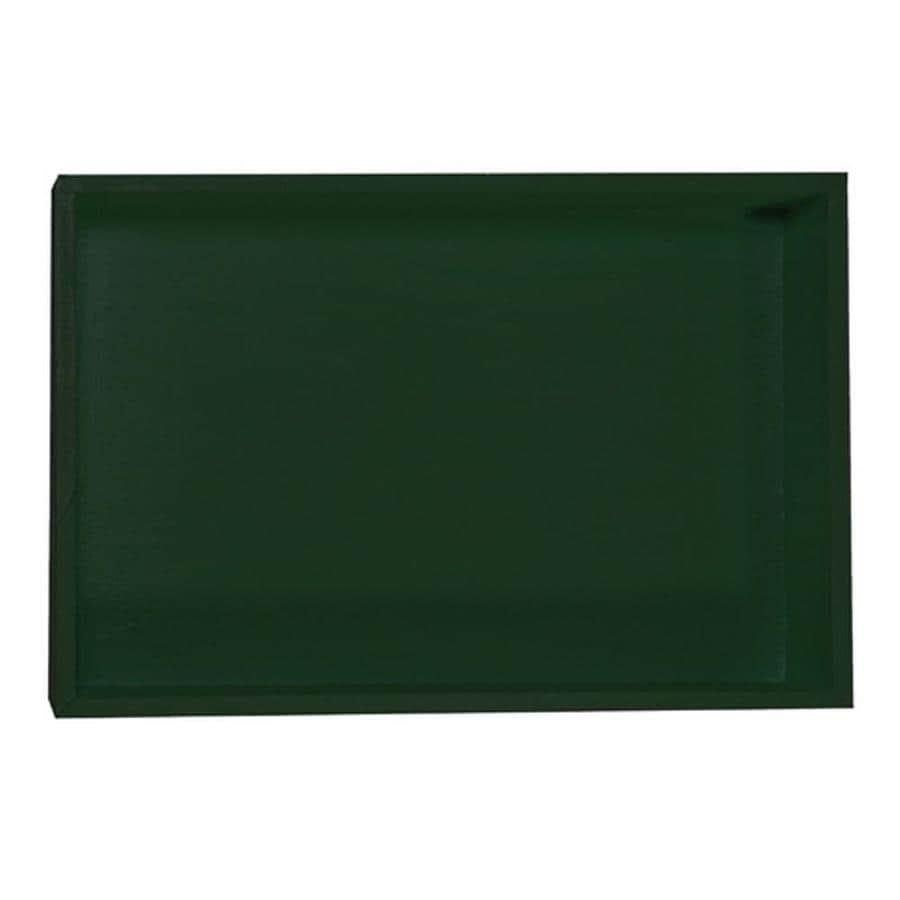 MAPEI Green High-Impact Polystyrene Shower Pan