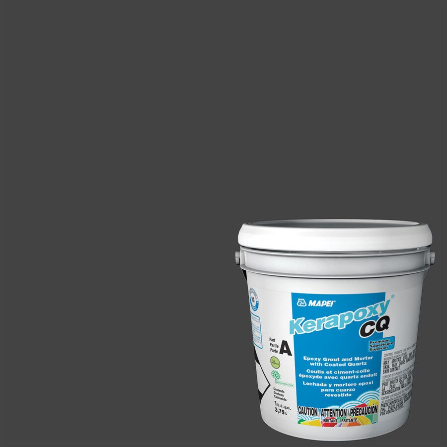 MAPEI Kerapoxy CQ 1-Gallon Black Sanded Epoxy Grout