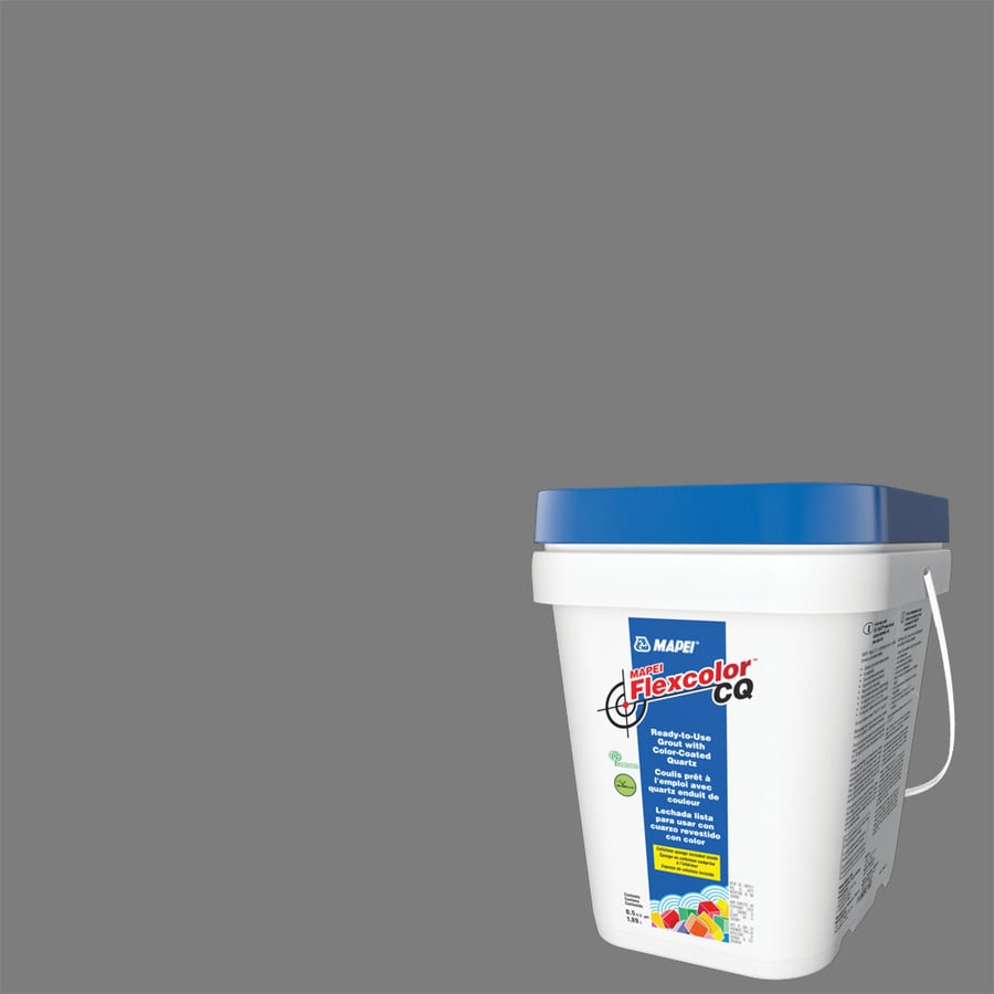 MAPEI Flexcolor CQ 0.5-Gallon Pearl Gray Acrylic Premixed Grout