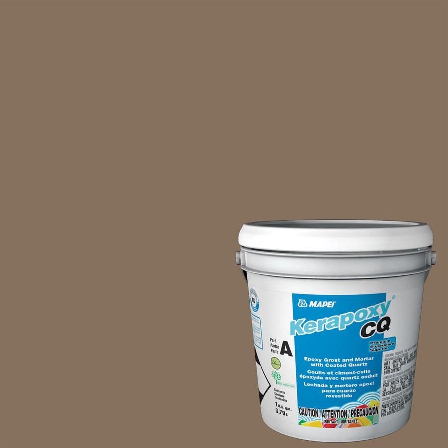 MAPEI Kerapoxy CQ 1-Gallon Mocha Sanded Epoxy Grout