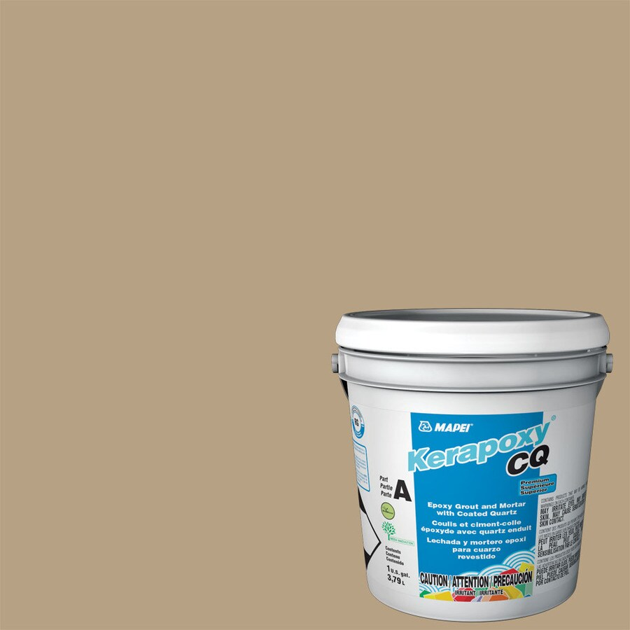MAPEI Kerapoxy Cq 1-Gallon Pale Umber Sanded Epoxy Grout