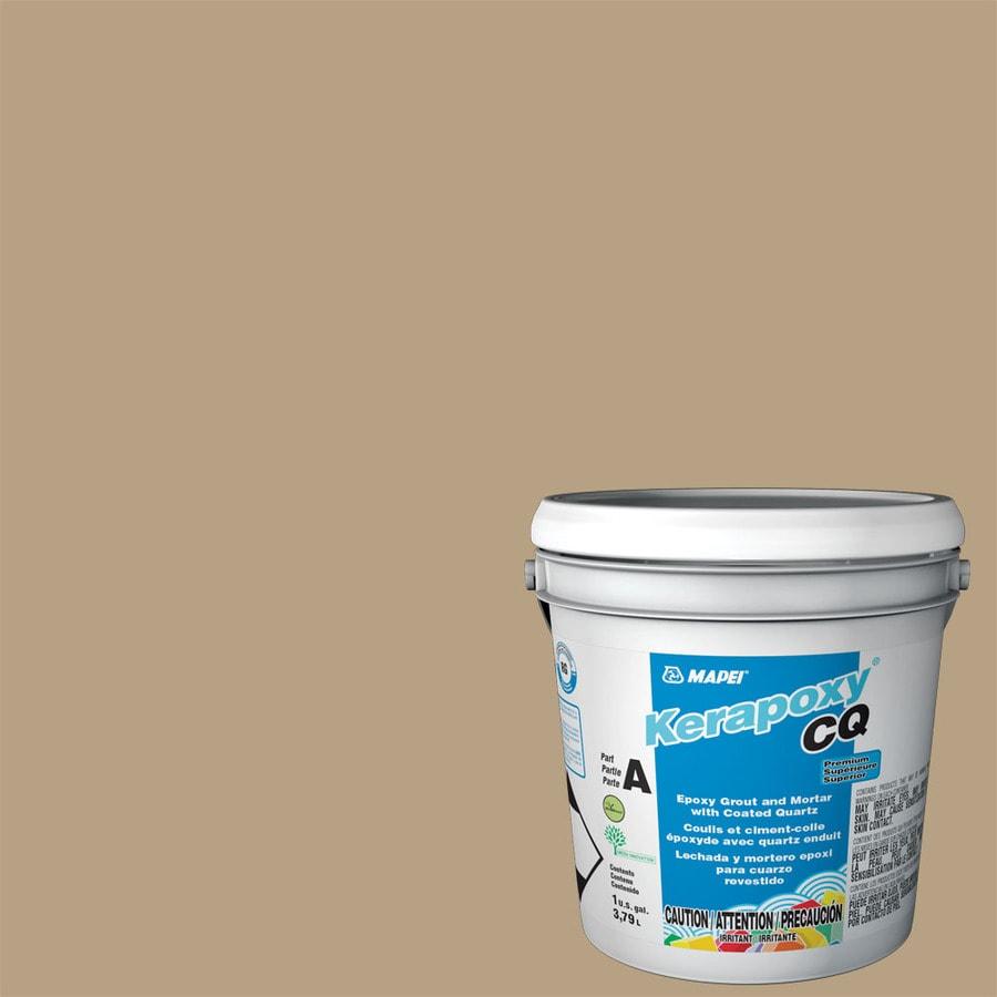 MAPEI Kerapoxy CQ 1-Gallon Pale Umber Sanded Epoxy Grout