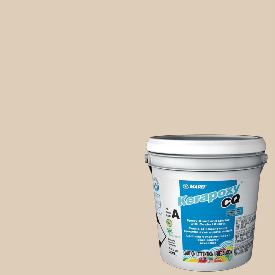 MAPEI Kerapoxy CQ 1-Gallon Light Almond Sanded Epoxy Grout