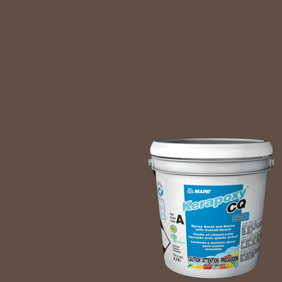 MAPEI Kerapoxy Cq 1-Gallon Cocoa Sanded Epoxy Grout