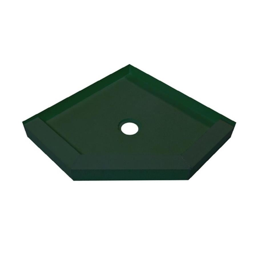 MAPEI Green Polystyrene Shower Base (Common: 48-in W x 48-in L; Actual: 48-in W x 48-in L)